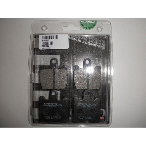 BRAKING 2 coppie pastiglie freno anteriore SM1 per SUZUKI BURGMAN 250 / 400 1998 / 2006