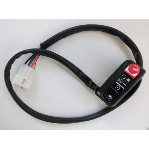 DOMINO Comando elettrico commutatore destro switch start run/stop