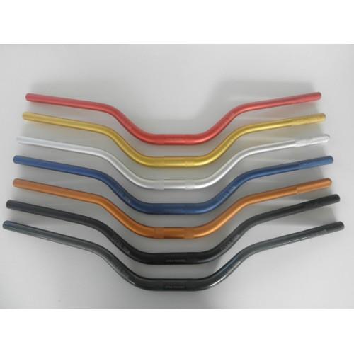 Manubrio Sezione Variabile 28/22 Piega Alta - universale moto - disponibili diversi colori
