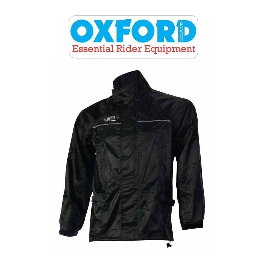 OXFORD GIACCA ANTIPIOGGIA MOTO IMPERMEABILE NERA - Diverse taglie  disponibili 7c4b6fd6c79