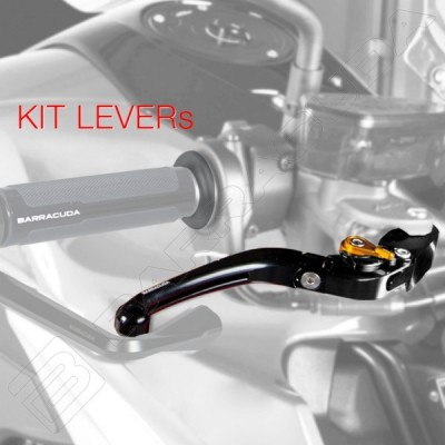 BARRACUDA KIT LEVE FRENO-FRIZIONE per DUCATI MONSTER 600 - MONSTER 800 S2R