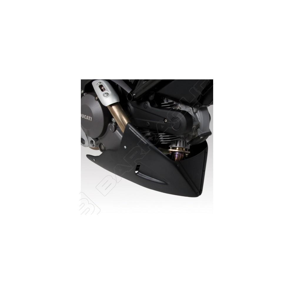BARRACUDA PUNTALE AEROSPORT NERO OPACO per DUCATI MONSTER 696 - MONSTER 1100
