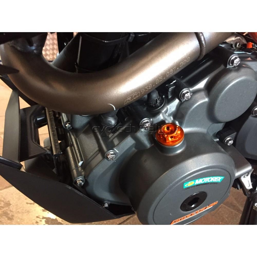 per KTM Duke 125 200 2012-2016 Duke 390 RC 200 250 390 2015 2016 Tappo per radiatore per moto CNC