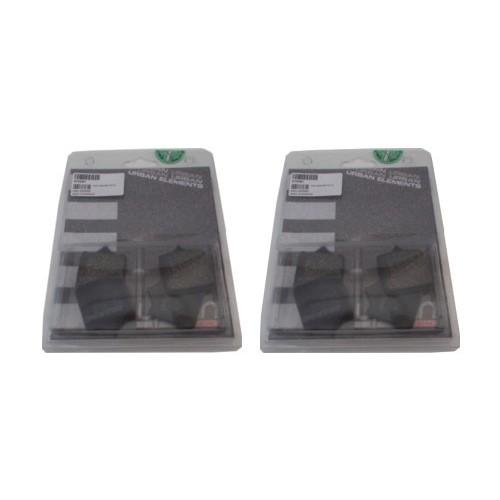 BRAKING 4 coppie pastiglie freno anteriore SM1 per BENELLI TRK 502 ABS 2018