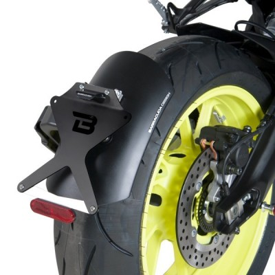 BARRACUDA PORTATARGA RECLINABILE SIDE per YAMAHA MT-09 2017 2018 2019