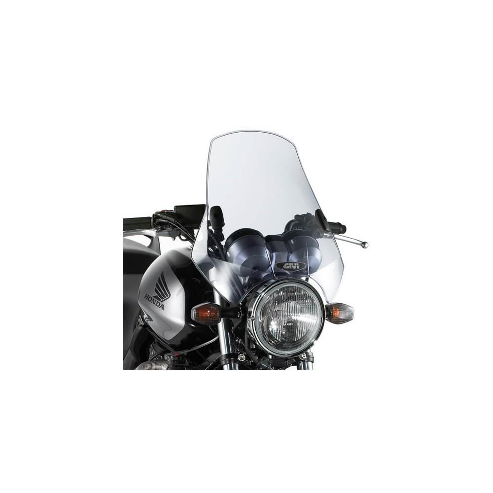 Parabrezza cupolino GIVI A660 fumè 42,5 x 42 cm con kit attacchi universali
