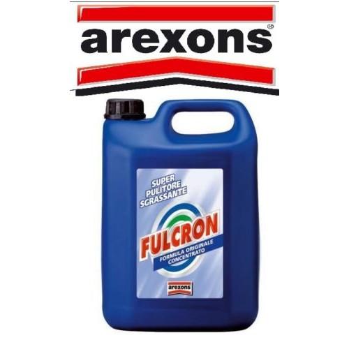 FULCRON AREXONS 5 LITRI CONCENTRATO SGRASSANTE AUTO MOTO SCOOTER