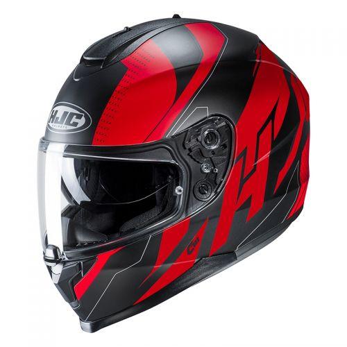 HJC CASCO INTEGRALE C70 BOLTAS MC1SF rosso nero