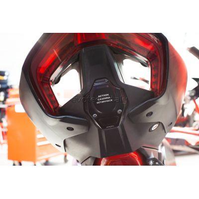 EVOTECH Tappo vano portatarga e optional Go-Pro per Ducati Panigale V4 2018