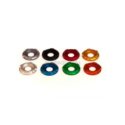 Rondella speciale per supporto targa Evotech (1pezzo) - vari colori