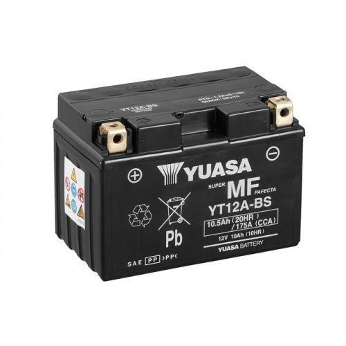 YUASA BATTERIA Senza Manutenzione con Acido YT12A-BS - 12V 10,5Ah
