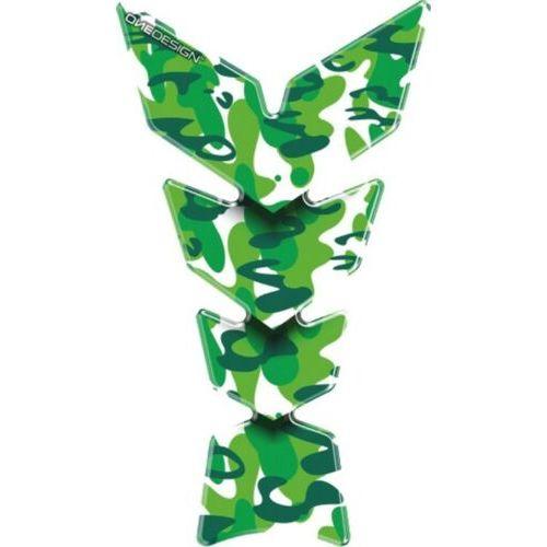 T4TUNE Paraserbatoio Protezione serbatoio Green spot