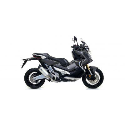 ARROW TERMINALE CORTO RACE TECH in alluminio con Fondello in Carbonio per Honda X-ADV 750 2017 / 2020
