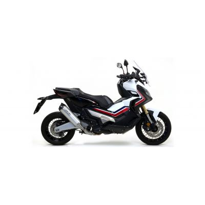 ARROW TERMINALE RACE TECH in alluminio con Fondello in Carbonio per Honda X-ADV 750 2017 / 2020