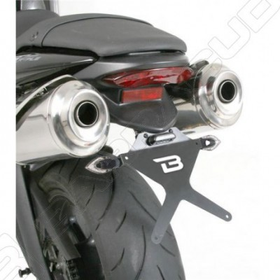 BARRACUDA PORTATARGA RECLINABILE per TRIUMPH STREET TRIPLE 2008 / 2016