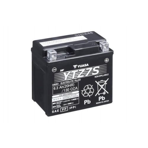YUASA BATTERIA Senza Manutenzione con Acido YTZ7S - 12V 6.3Ah