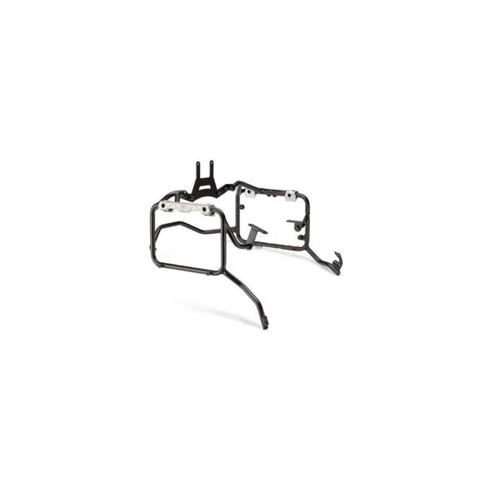 Portavaligie laterale specifico per valigie GIVI MONOKEY CAM-SIDE Trekker Outback per HONDA AFRICA TWIN 1000 2016 2017