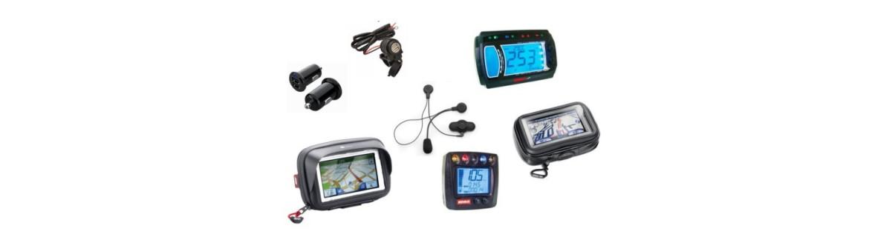 Vendita Strumenti Elettronici, Supporti e Accessori per Moto e Scooter