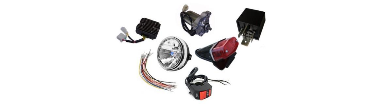 Vendita Materiale Ricambi Impianto Elettrico Moto e Scooter