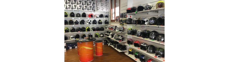 Vendita Caschi e accessori e ricambi per Casco Moto e Scooter